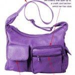 Roomie purple purse, very vibrant! #purple #purplepurse #purse #summer #summerhandbags