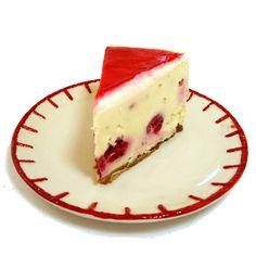 One Perfect Bite: White Chocolate and Raspberry Cheesecake