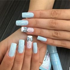 Today we have 49 of the Best Nail Art Designs! All of these nail art designs feature a unique style and a lovely taste. Luv Nails, Dope Nails, Nail Swag, Floral Nail Art, Best Nail Art Designs, Luxury Nails, Manicure And Pedicure, Manicure Ideas, Cool Nail Art