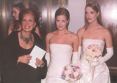 DS, Victoria and Vanessa, at the Infirmary Ball, NYC Fairytale Gown, Fashion Bible, Danielle Steel, I Got Married, Social Events, Famous Women, Ds, Evening Gowns, Designer Dresses
