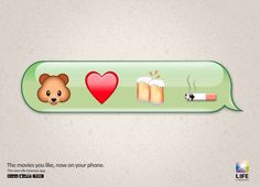 """Life Cinemas : """"The movies you like, now on your phone."""" 「TED」"""
