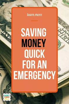 Find out more about how you can save money quickly (possibly two weeks like I did) for an emergency fund. Saving money is important especially when you are trying to get out of debt and stay on a monthly budget. #moneysavingtips #budgetingfinances #budgetingforbeginners