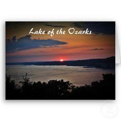 Lake of the Ozarks card