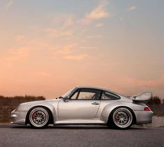 "I think I maybe say ""yummy"" to cars too often, but yummy. #Porsche 993 GT2"