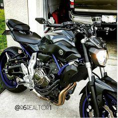 The old fz! #led #fz07 #mt07 #fz09 #happy #motorcycle #sportbikelife #exhaust #yamaharacing #yamaha #streetbike #streetbikes… Moto Bike, Yamaha Motorbikes, Yamaha Bikes, Mt 07 Yamaha, Super Bikes, Street Bikes, Custom Motorcycles, Bike Life, Sportbikes