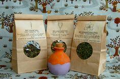 Pregnancy Tea Blend Trio  Organic by wortsandcunning on Etsy, $25.00