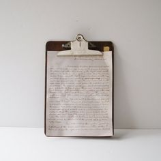 Vintage Stempco Clipboard Industrial Office by AlegriaCollection, $12.00