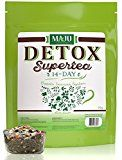 Maju Superfoods 14-Day Detox Tea: California Hand-Blended, Teat ox Weight Loss, Caffeine-free and Delicious