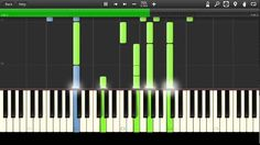 Star Trek - Theme Song Synthesia Tutorial