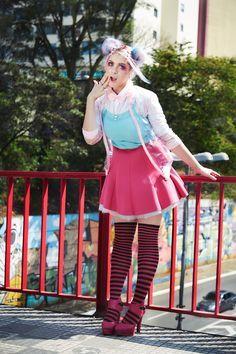 Resultado de imagem para harajuku editorial de moda Harajuku, Candy Colors, Kawaii Doll, Magazine, Style, Fashion, Fashion Editorials, Swag, Moda