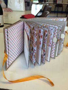 Album wood et son tuto Scrapbooking Technique, Album Photo Scrapbooking, Mini Albums Scrapbook, Papel Scrapbook, Baby Scrapbook, Creation Album Photo, Mini Albums Photo, Mini Album Scrap, Envelope Book