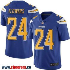 Men's San Diego Chargers #24 Brandon Flowers Royal Blue 2016 Color Rush Stitched NFL Nike Limited Jersey