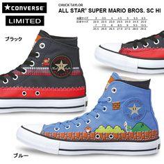CONVERSE ALL STAR SUPER MARIO BROS. SC HI