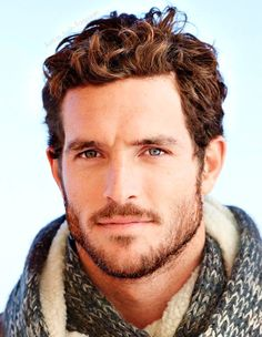 Justice Joslin professional footballer turned model is the inspiration for my hero, Tyler Justice. Justice Joslin, Ginger Men, Ginger Beard, Look Man, Mode Masculine, Male Face, Good Looking Men, Facial Hair, Male Beauty