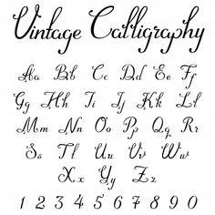 Alphabet Cursif, Calligraphy Fonts Alphabet, Handwriting Alphabet, Hand Lettering Alphabet, Script Typeface, Font Styles Handwriting, Cursive Tattoo Fonts, Font Styles Alphabet, Fancy Fonts Alphabet