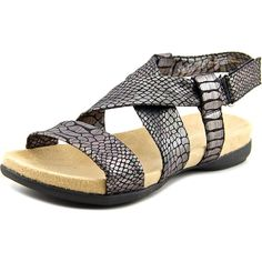 Naturalizer Womens Ainsley Open Toe Casual Fabric Flat Sandals -- You can find more details by visiting the image link. (This is an affiliate link) #shoes