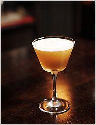 Sidecar:  2 parts bourbon 1 part cointreau 1 part lemon juice 1/2 part simply syrup  variations:  ginger syrup meyer lemon juice rim the glass w/sugar