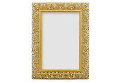Floradora Frame, 5x7, Gold on OneKingsLane.com