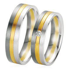 Très originale, le Duo Vitoria & Bathilde est en or blanc, noir et jaune. L'alliance Vitoria est sertie d'un diamant blanc rond. http://www.zeina-alliances.com/alliance-duo/3514-duo-vitoria-bathilde.html