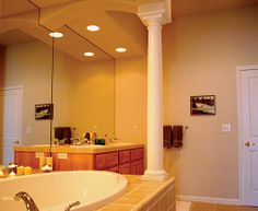 Whether for decoration or as a stability covering, our interior columns are a great way to upgrade your home.