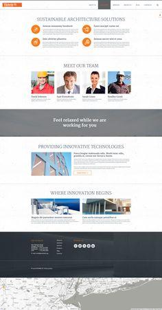 Architecture Bureau Joomla Template