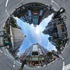 """Creating Worlds: A Collection I=Of """"Little Planet"""" Images And Tutorials"""