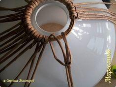 Поделка изделие Декупаж Плетение Схемы для ситца -3 и абажуры Бумага Бумага газетная Трубочки бумажные фото 15