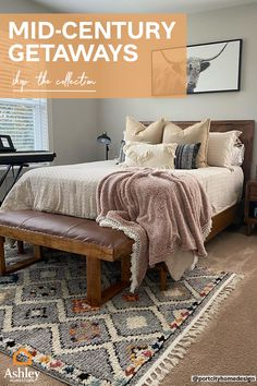 Master Bedroom Interior, Guest Bedroom Decor, Room Ideas Bedroom, Dream Bedroom, Home Bedroom, Bedroom Furniture, Southwest Bedroom, New Room, Room Inspiration