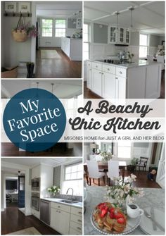My Favorite Space: A Stunning Kitchen | Migonis Home for Just a Girl and Her Blog