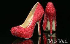 Rio Red Benjamin Adams Evening Shoes