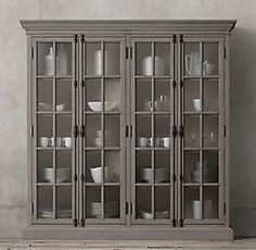 French Casement Shelving Collection | RH