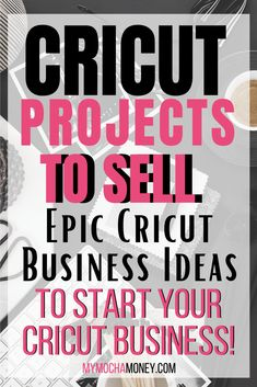 Learn what Cricut projects to sell! Get epic Cricut business ideas now and start your business . Turn your Cricut Explore or Cricut Maker into a money-making tool even if you're a beginner! Get inspiration for Cricut projects with vinyl, paper, fabric and more! Cricut projects to sell ideas| Cricut projects to sell craft fairs | Cricut projects to sell vinyl decals | Cricut projects to sell business Cricut projects to sell t shirts | DIY #Cricut #Cricutprojects #Cricutprojectstosell…