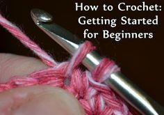 Before you can learn how to make crochet stitches, you need gather your supplies, and  learn the basics of how to read a pattern, and what exactly gauge means. This article will get you started.