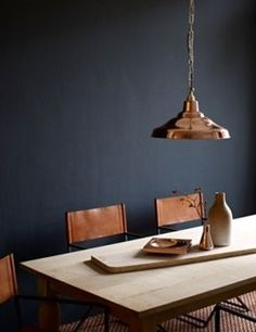 Love the copper chairs!