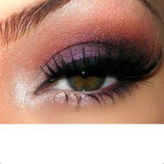 very pretty lavender always brightens green eyes... love it
