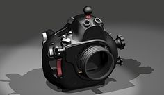 Underwater housings for Nikon D800 and D4 cameras in the making