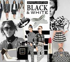 Black  White Edit. More online each week:  http://www.scarfring.com/journal/