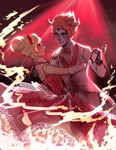If star had danced with Tom ... I'm a total Starco shipper but this is good art