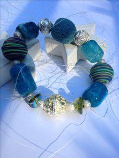 Armband... ein Traum in Meeresfarben...