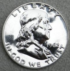 1962 50C (Proof) Franklin Half Dollar   Gem (OUT OF PROOF SET) FREE SHIP  $19.99 Free Shipping