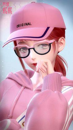 Cartoon Girl Images, Cute Cartoon Girl, Cute Love Cartoons, Anime Girl Cute, Anime Girl Crying, Anime Angel Girl, Manga Anime Girl, Cute Galaxy Wallpaper, Cute Wallpaper For Phone