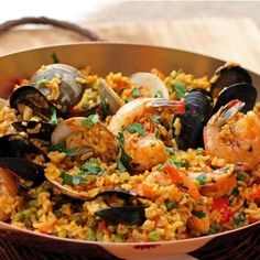 Spicy Andalusian Seafood Paella Recipe on Food52 recipe on Food52