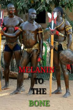 Melanin is present in black people's bodies, skin, cells, nerves, brain, muscles, bones, reproductive & digestive systems & all bodily functions in a higher amount than all other races.