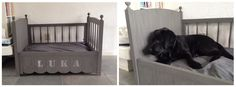 Van ledikant tot hondenmand :) Chihuahua, Toddler Bed, Puppy, Diva, Houses, Furniture, Home Decor, Accessories, Doggies