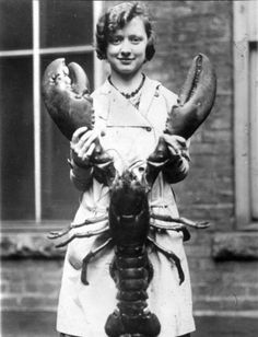 For my husband, the lobster catcher...can you imagine??? Provenance unknown. via the aptly named Gifts of Life on tumblr