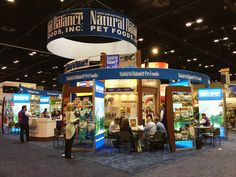 Natural Balance double deck display www.xibeo.com 805.604.4409