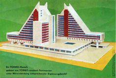 DDR-Baukästen Interhotel Panorama Oberhof