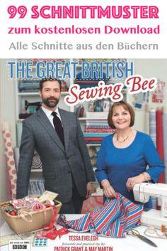 GBSB - Alle Schnittmuster aus der Serie Great British Sewing Bee zum kostenlosen Download.  GBSB - All pattern for free download from the Great British Sewing Bee.