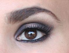 My Beauty Spot Blog | Dark purple smokey eye