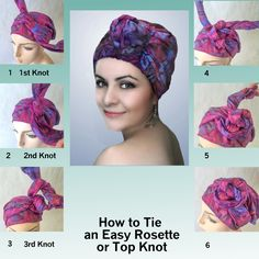 Multiple videos on how to tie Turban Diva turbans